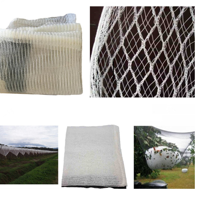 100% virgin HDPE leno knitted anti hail net