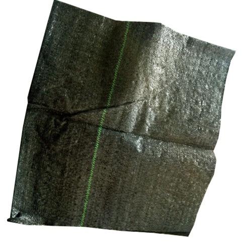 huerto negro suelo tela tejida estera de aislamiento cobertura de malezas