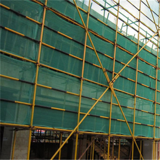 New HDPE and fire retardant scaffold building green construction safety net