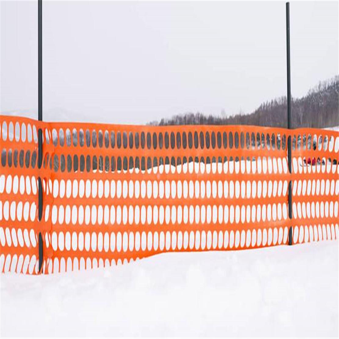 100% HDPE Plastic Warning Net/Plastic Orange Safety Fence Net Factory