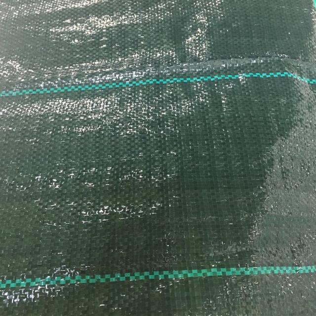 mat couverture blanc fond jaune / herbe / tapis anti herbe