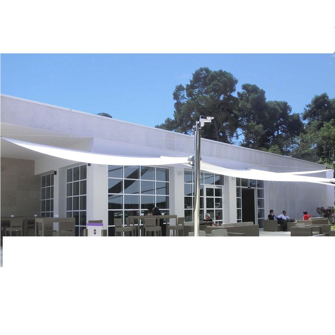 HDPE Voile Matériel et voiles d'ombrage & soleil Nets Type de châssis jardin extérieur ombre net