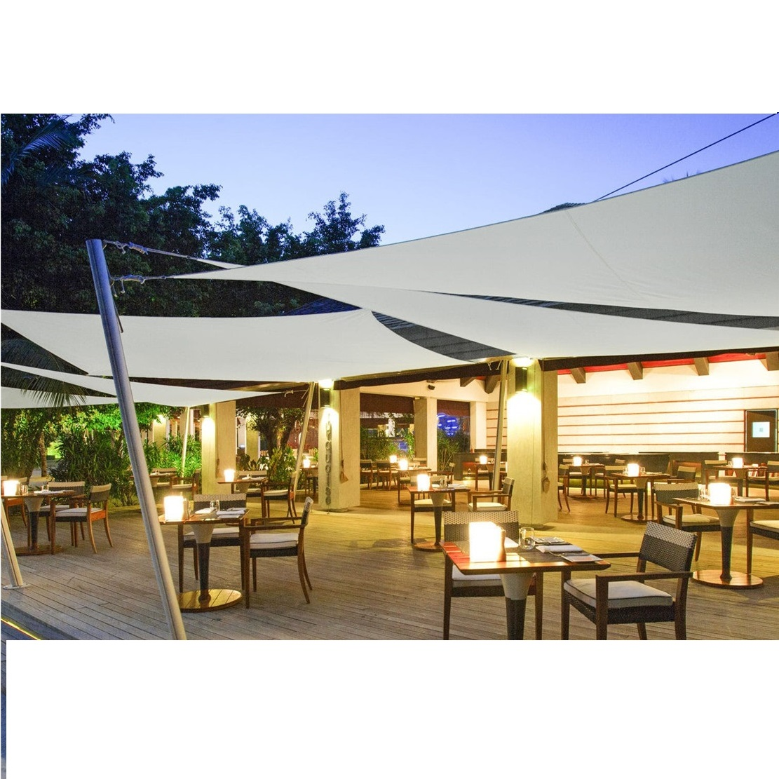 Waterproof sun shade sail/canvas shade sails/sail sun shade To prevent sunlight and water,Mainly used in car park,swimming pool