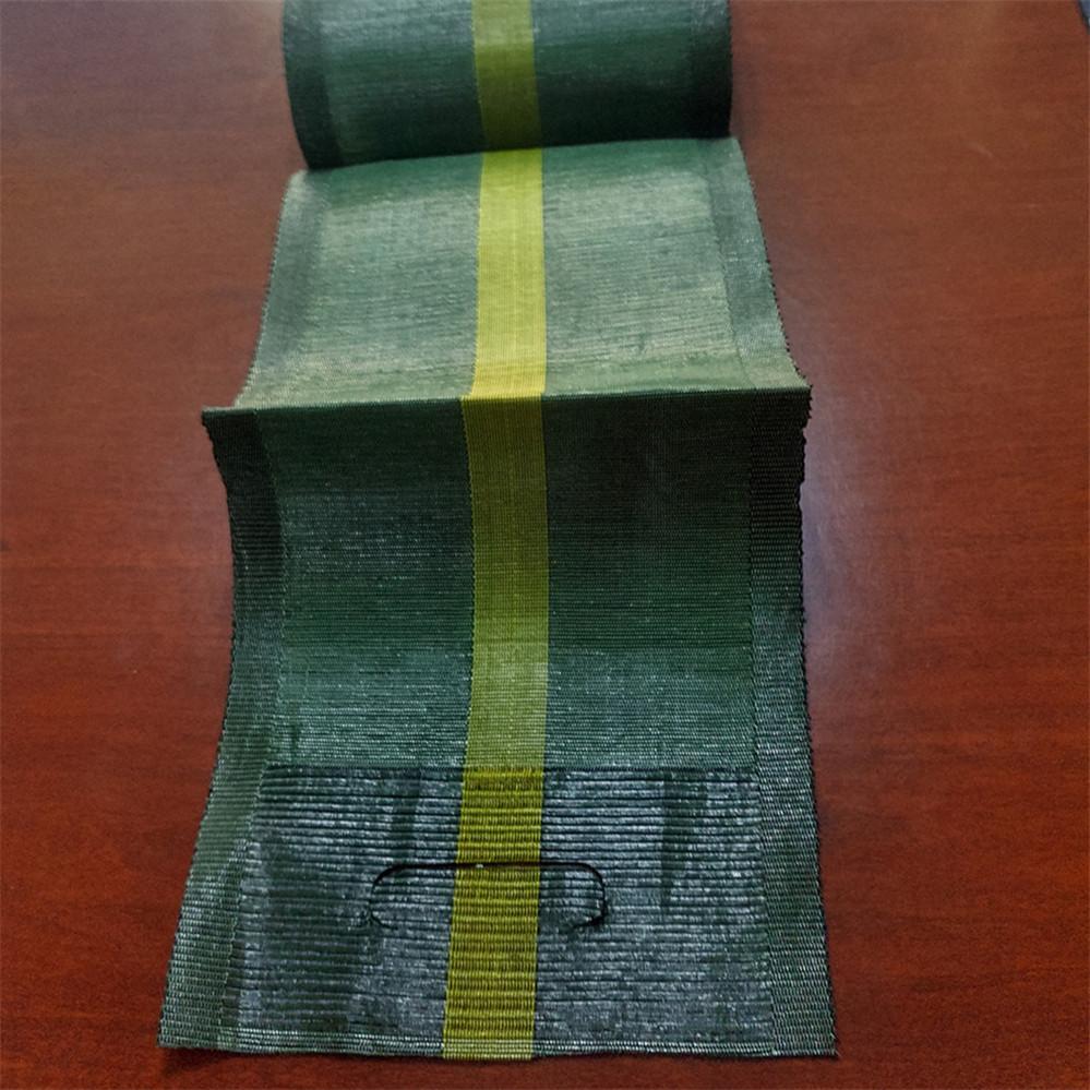 Gravel Beutel HDPE mit Griffschlaufen woven Bindfäden und Schließen 27cmx120cm