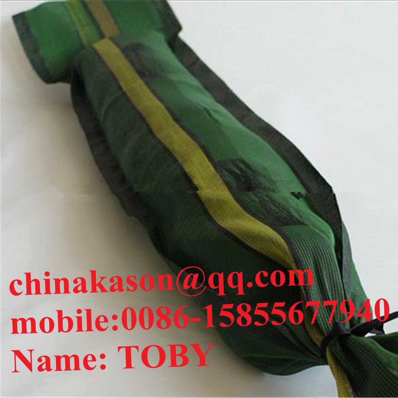 HDPE woven Silo / Silage Taschen und Netze Silodeckel grüne Farbe