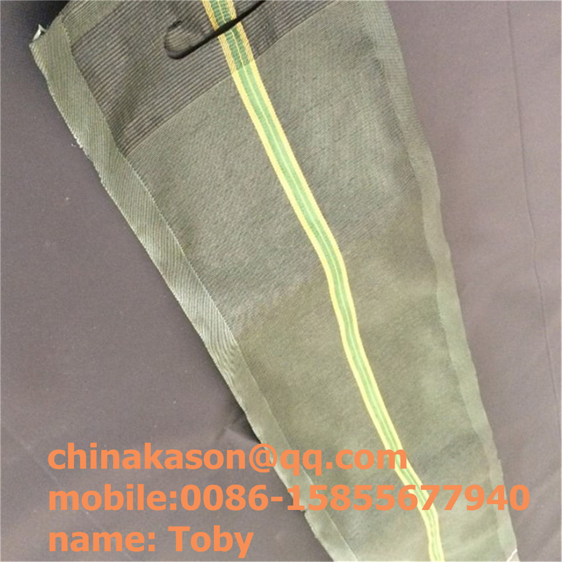 hdpe net gravel bag for silo bag supplier