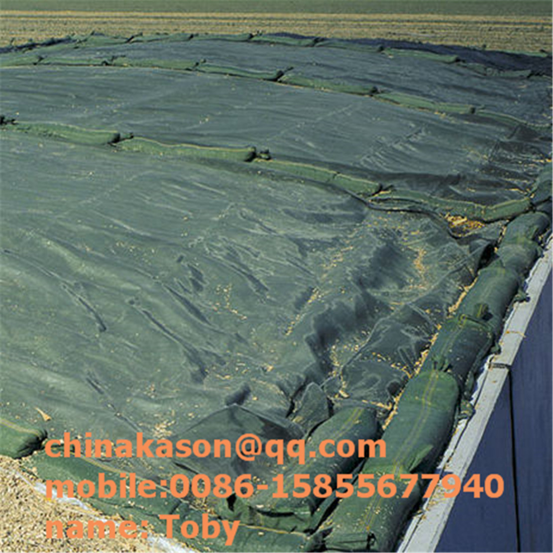 Strong silage woven netting monofilament, silage protection net 200-300g/m2