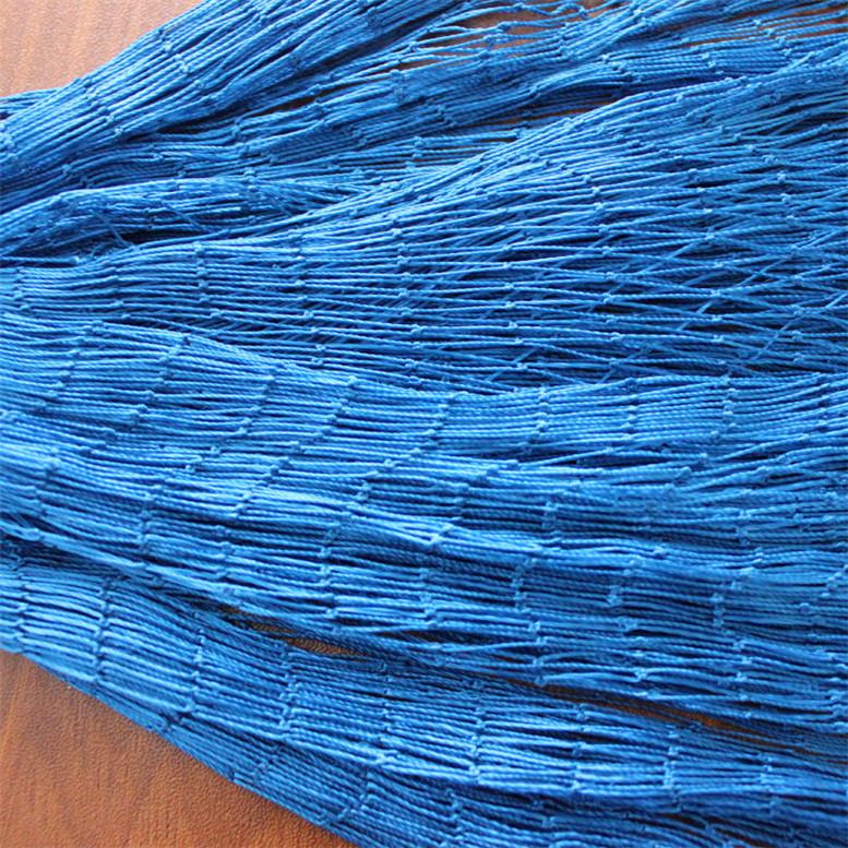 210d red de pesca multifilamento de nylon rojo