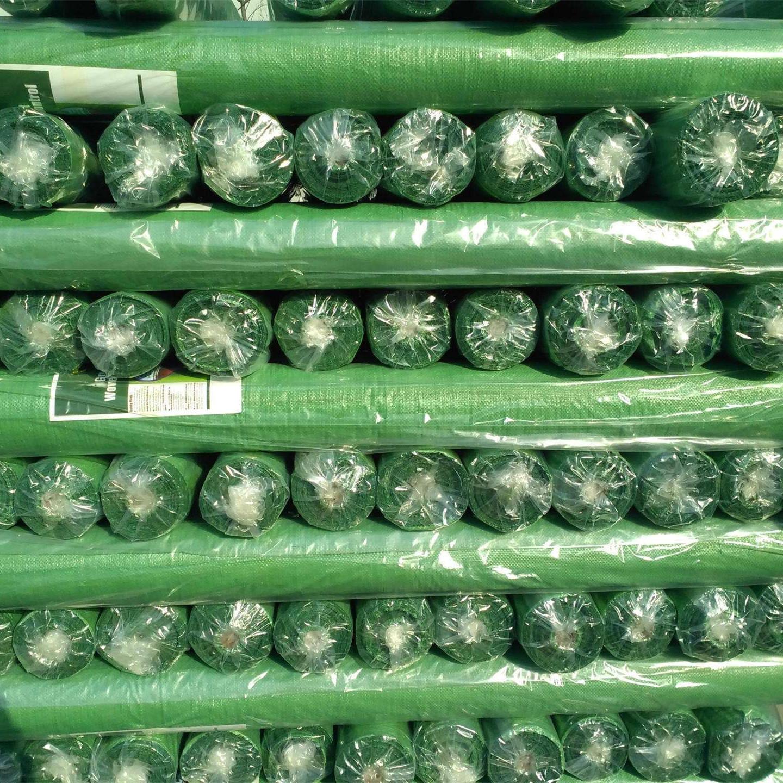 Hochwertige schwarz-weiße landwirtschaftliche Landwirtschaft Kunststoff pp gewebte Bodendecker Anti-Unkraut-Barrierematte