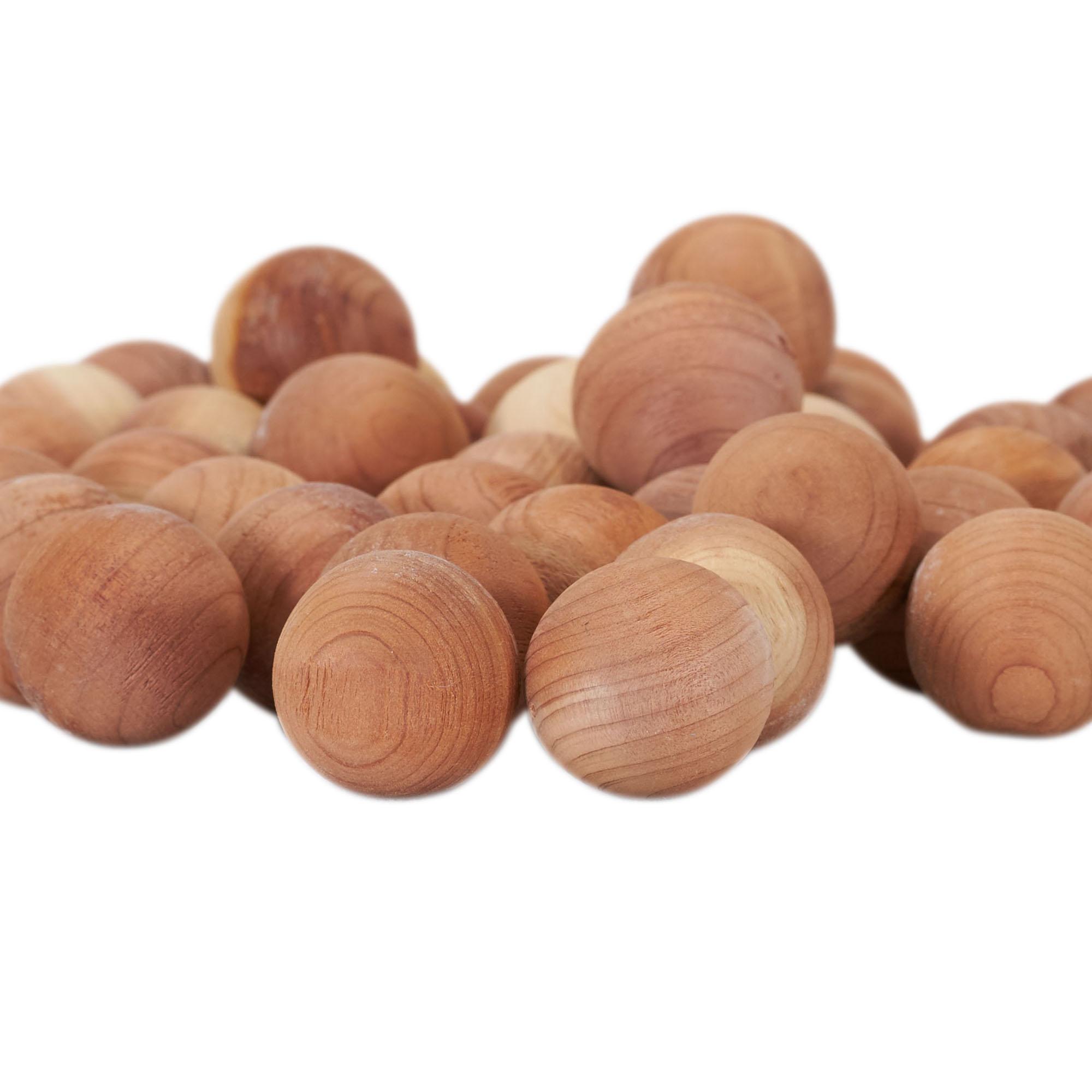 Шарик из кедрового дерева с защитой из кашемира, кедровые шары для хранения одежды